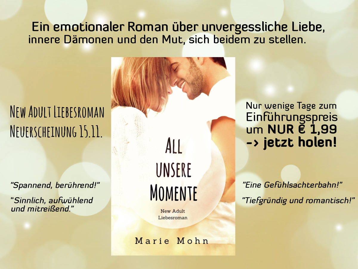 RELEASETAG All unsere Momente & Blogtourstation 2