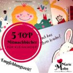 Mitmachbücher für Kinder - 5 Top Empfehlungen