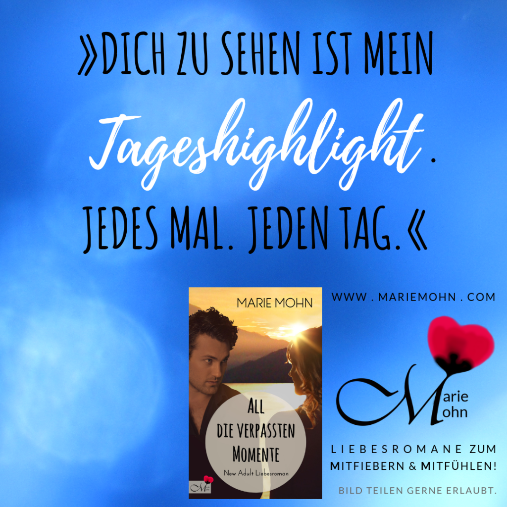 New Adults Bücher Schnipsel Tageshighlight