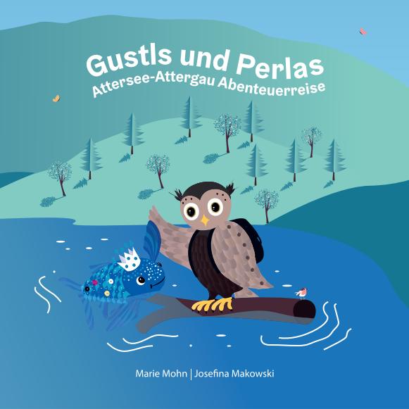 Cover des Bilderbuchs Gustls und Perlas Abenteuerreise